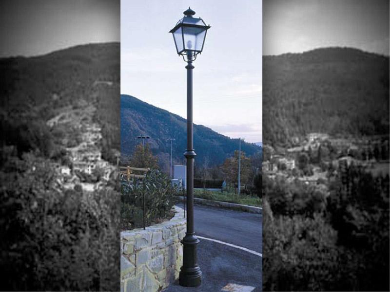 Marinelli Arredo Urbano Srl.Art 1 101 Lampione Firenze Per Parchi E Giardini Da Marinelli