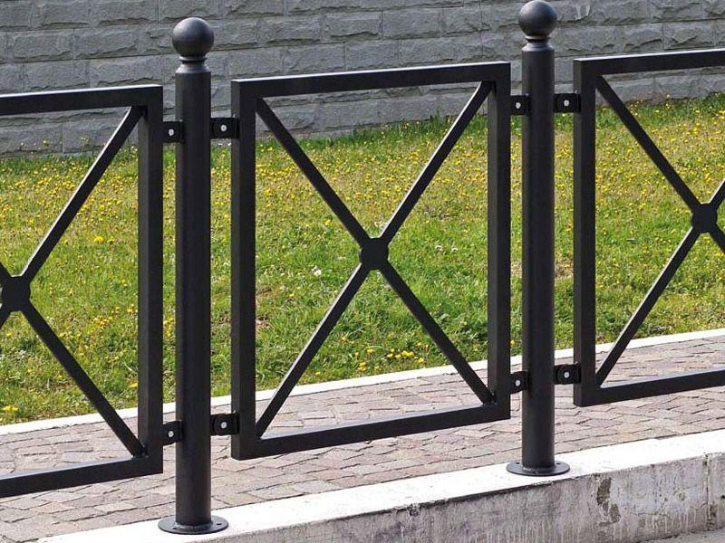 Marinelli Arredo Urbano Srl.Art 1 403 Transenna Volterra Per Parchi E Giardini Da Marinelli