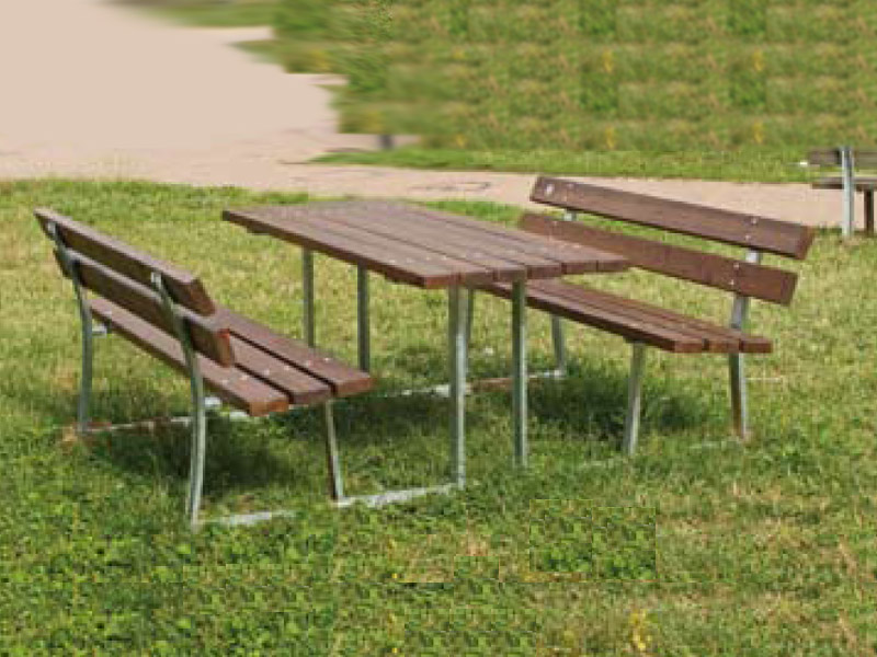 art 206 tavolo pic nic siena standard per parchi e