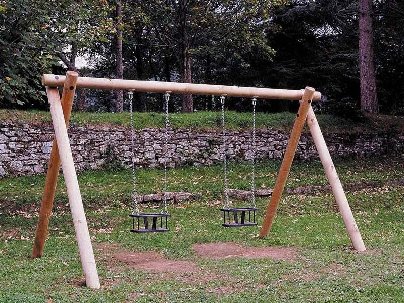 Art 601 g altalena orsetto per parchi e giardini da for Marinelli arredo urbano