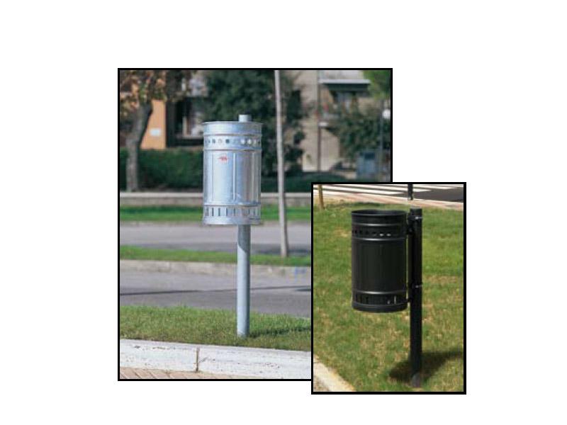 Art 703 cestino firenze per parchi e giardini da for Marinelli arredo urbano
