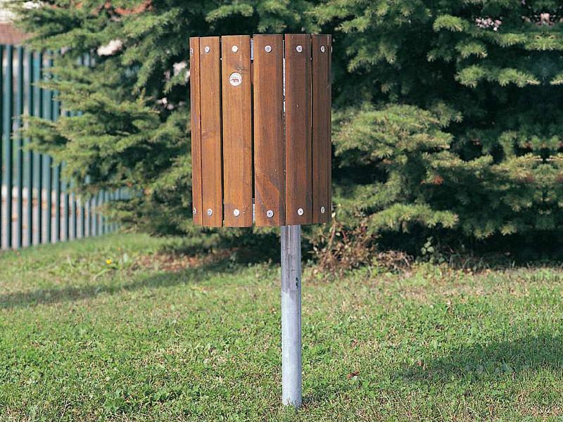 Art 704 cestino perugia per parchi e giardini da for Marinelli arredo urbano