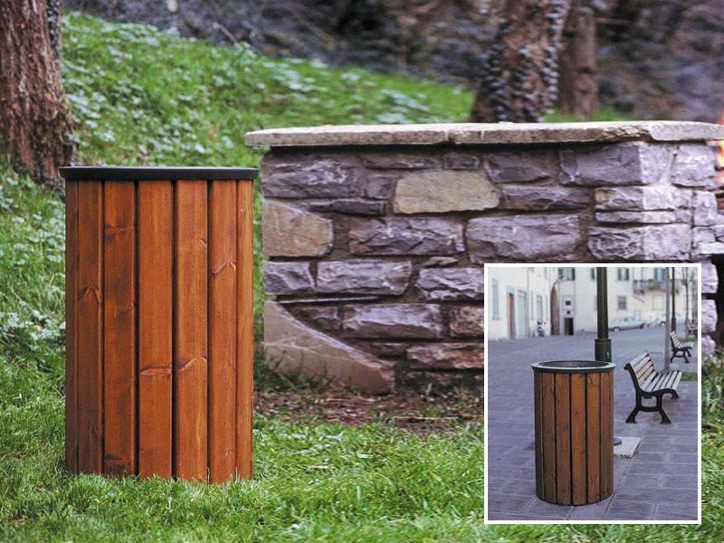 Art 706 cestone assisi per parchi e giardini da marinelli for Marinelli arredo urbano