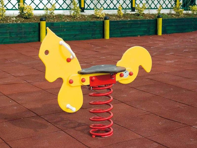 Art 706 gioco a molla pony per parchi e giardini da for Marinelli arredo urbano
