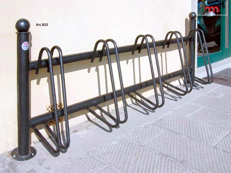 Art 903 rastrelliera portabiciclette per parchi e for Marinelli arredo urbano