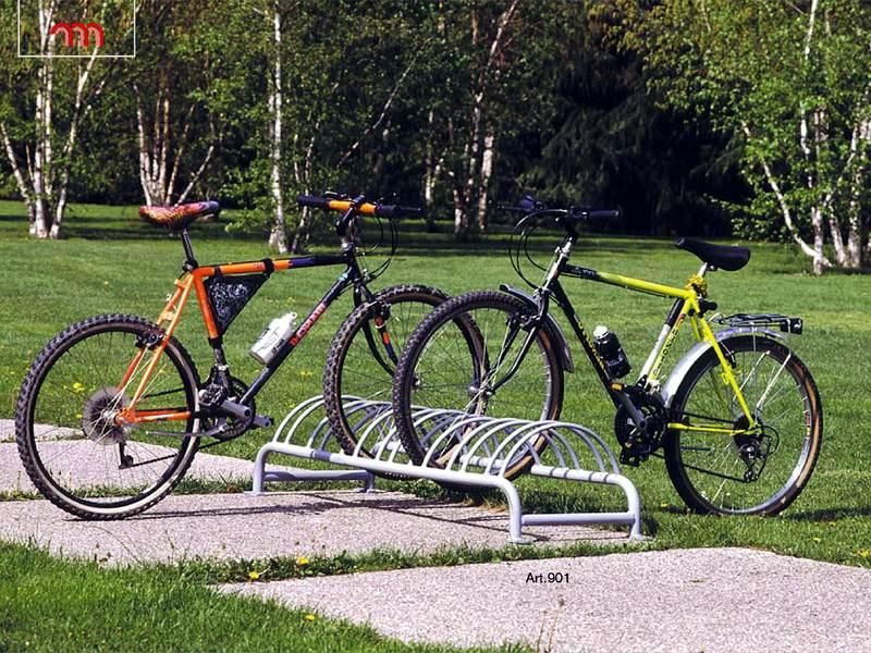 Art 901 rastrelliera portabiciclette per parchi e for Marinelli arredo urbano